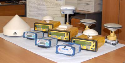 GNSS приемники используемые в тресте